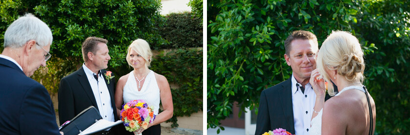 Ceremony Photographer Palm Springs California weddings and elopements