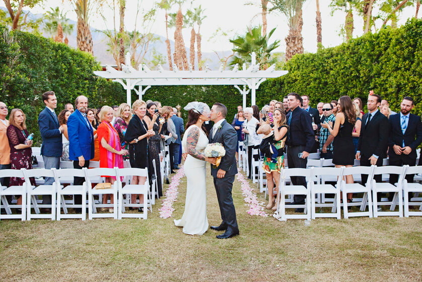 Riviera Hotel Wedding Photography Palm Springs