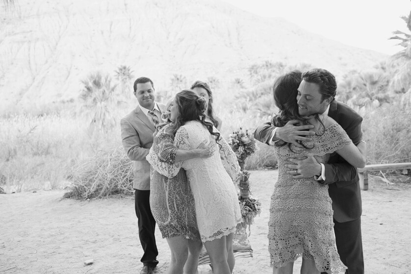 Photojournalistic Wedding coverage Palm Springs