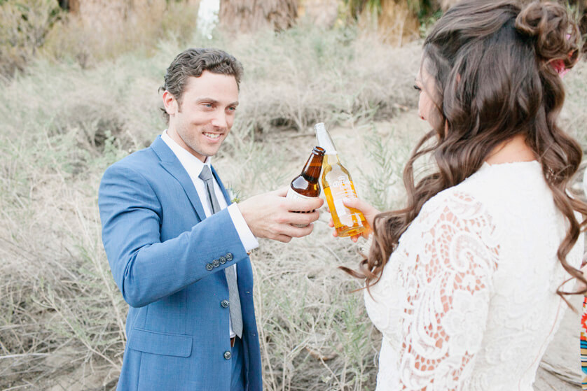 A toast, elopement a complete success
