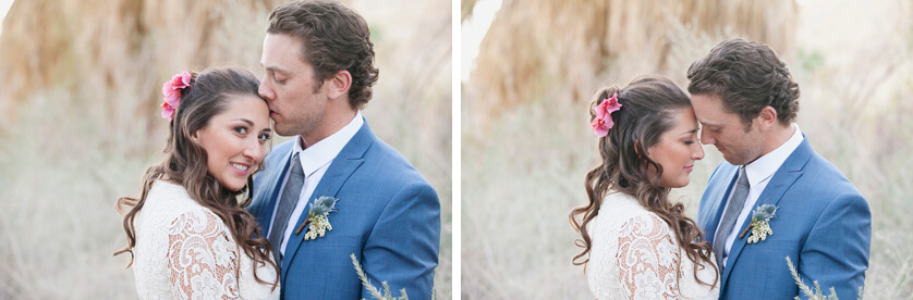 Bohemian wedding in Palm Springs California