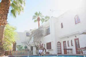 Korakia Pension Wedding photographer Palm Springs