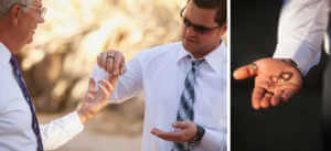 Wedding rehearsal at Coachella Valley Preserve, Thousand Palms