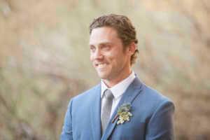 Groom, elopement Palm Springs
