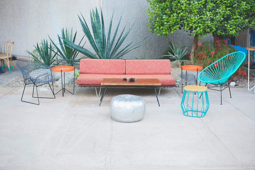 Furniture Rentals by Yeah! Rentals Palm Springs