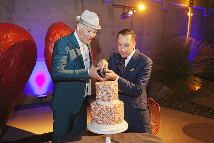 Wedding Cake cutting tradition