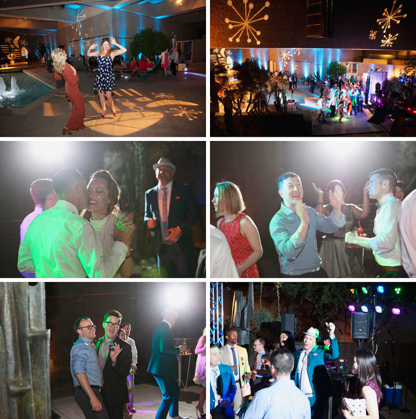 Reception photographer professional lights