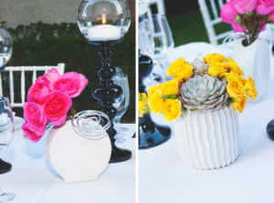 Peonies, Roses, black and white decor Avalon Hotel
