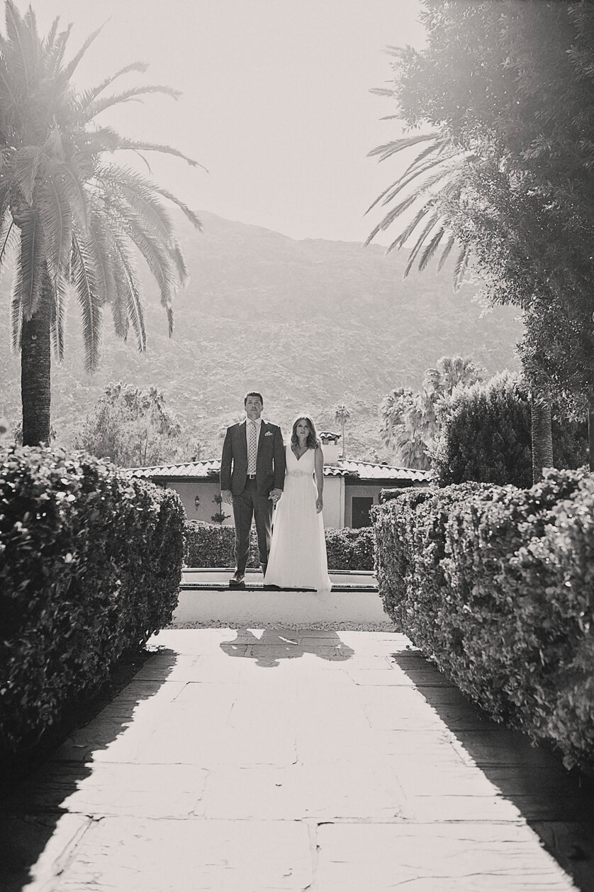 Palm Springs Avalon Wedding California Sunny Natural Light