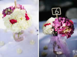 Weddding, Decor, Flowers, Hydrangea, candles,centerpieces,flowers