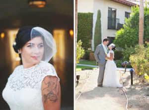 Wedding veil, Birdcage Veil, Classic, Bridal portrait, Photography, Indian Wells Wedding Photographer