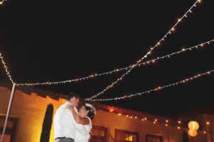 Bistro lights, starts, dance, love, Hotel, outdoors