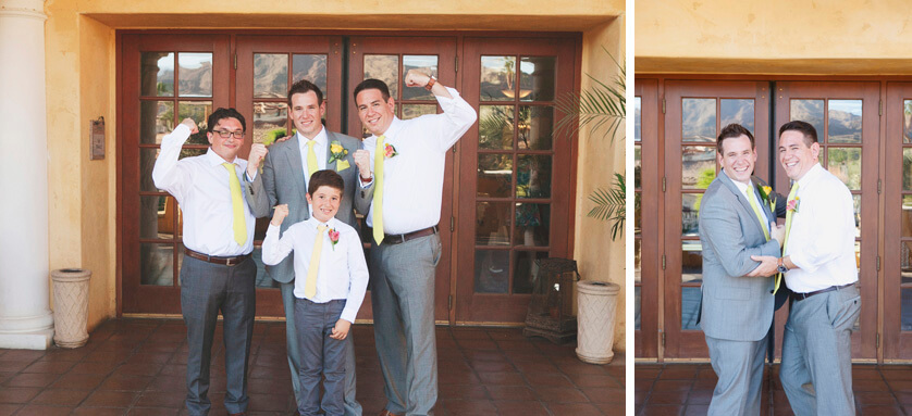 Groom and groomsmen, formals, fun formals, desert, casual, chic
