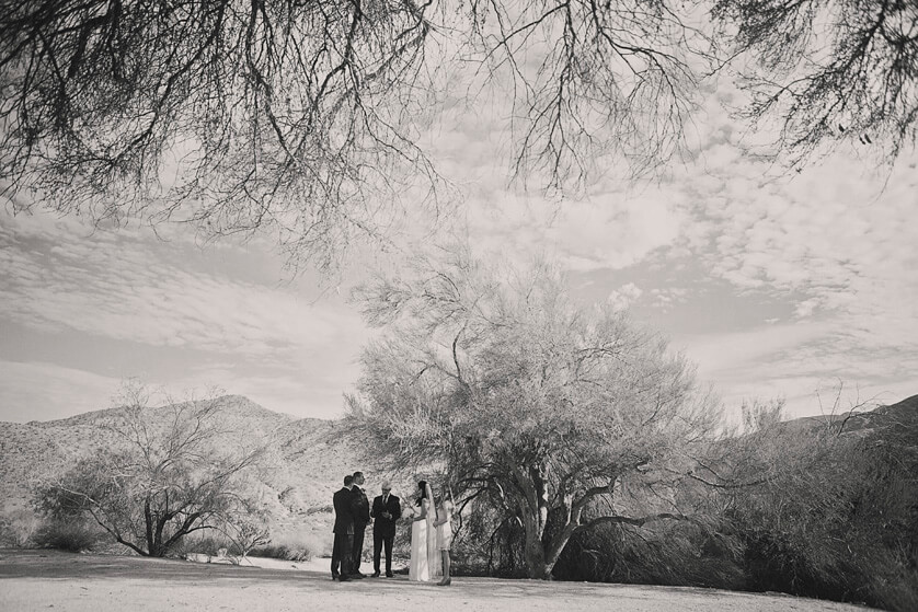 Outdoor Weddings, Scenery, Private, Beautiful desert wedding, Elopement, desert elopement, Richard Cadieux, Santa Rosa