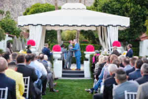 First kiss, married men, Happily married, Palm Springs Weddings, PS wedding photographer