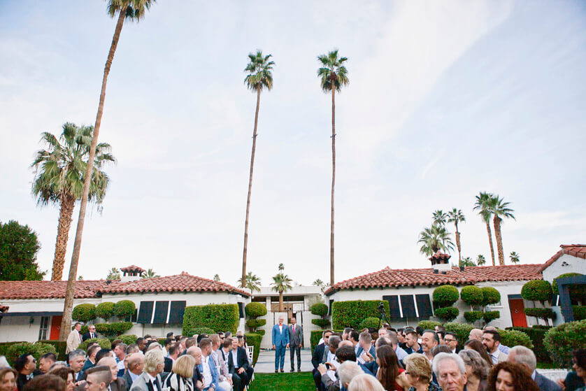 Ceremony, Hotel, Boutique, Palm Springs, Weddings, Photographer, Palm Springs Photographer, Chic