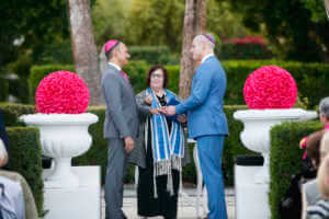 Rings, marriage, Jewish ceremony, happy, wedding, couple, same sex, gay, LGBTQ, Palm Springs, Love is love