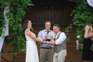 A moment documented, groom celebrates