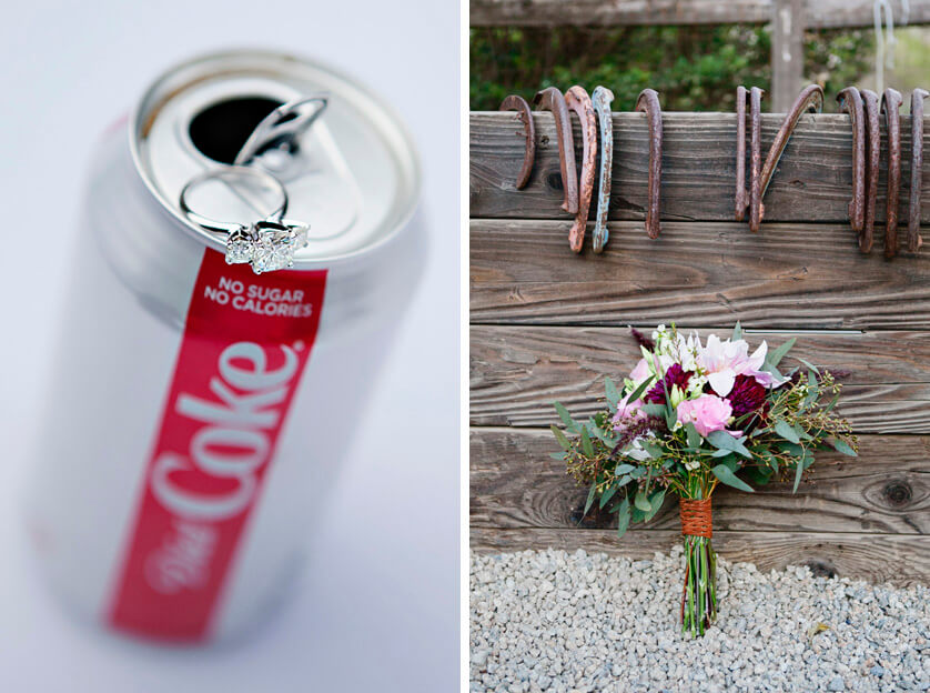 The ring and the bouquet photograph