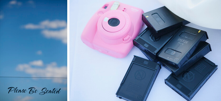 Fuji Instax Camera for guest book photos