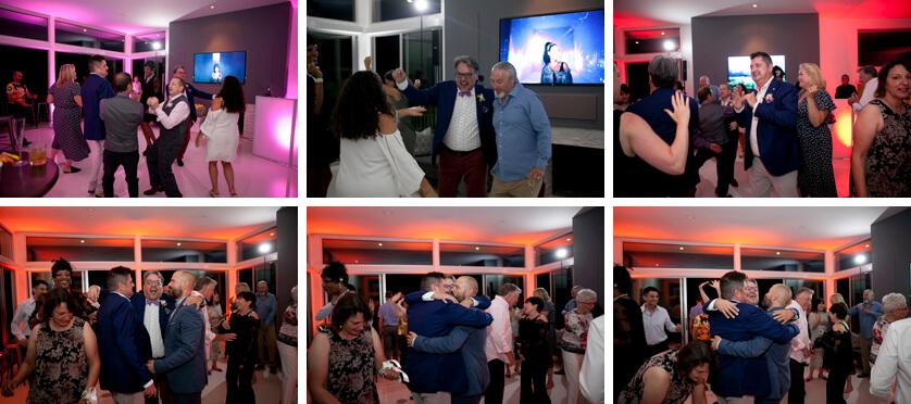 Wedding reception, gay wedding Palm Springs