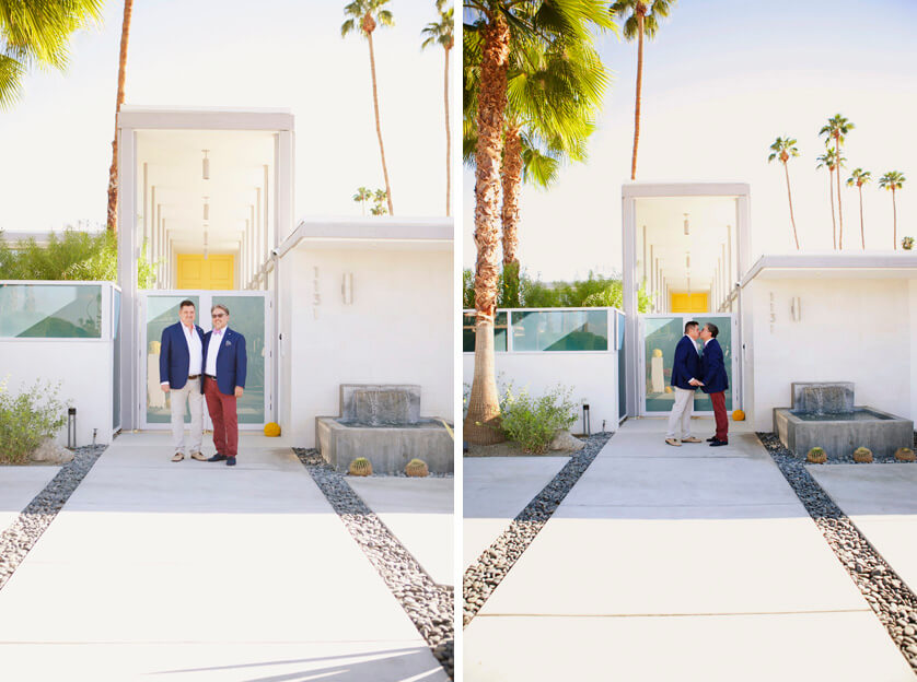 Same-Sex Wedding, Palm Springs California