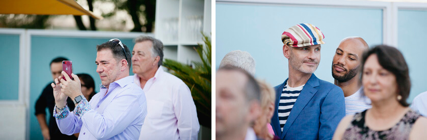 Candids of guests, Palm Springs, Private Estate Wedding