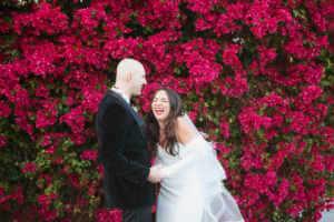 Fun wedding portraits