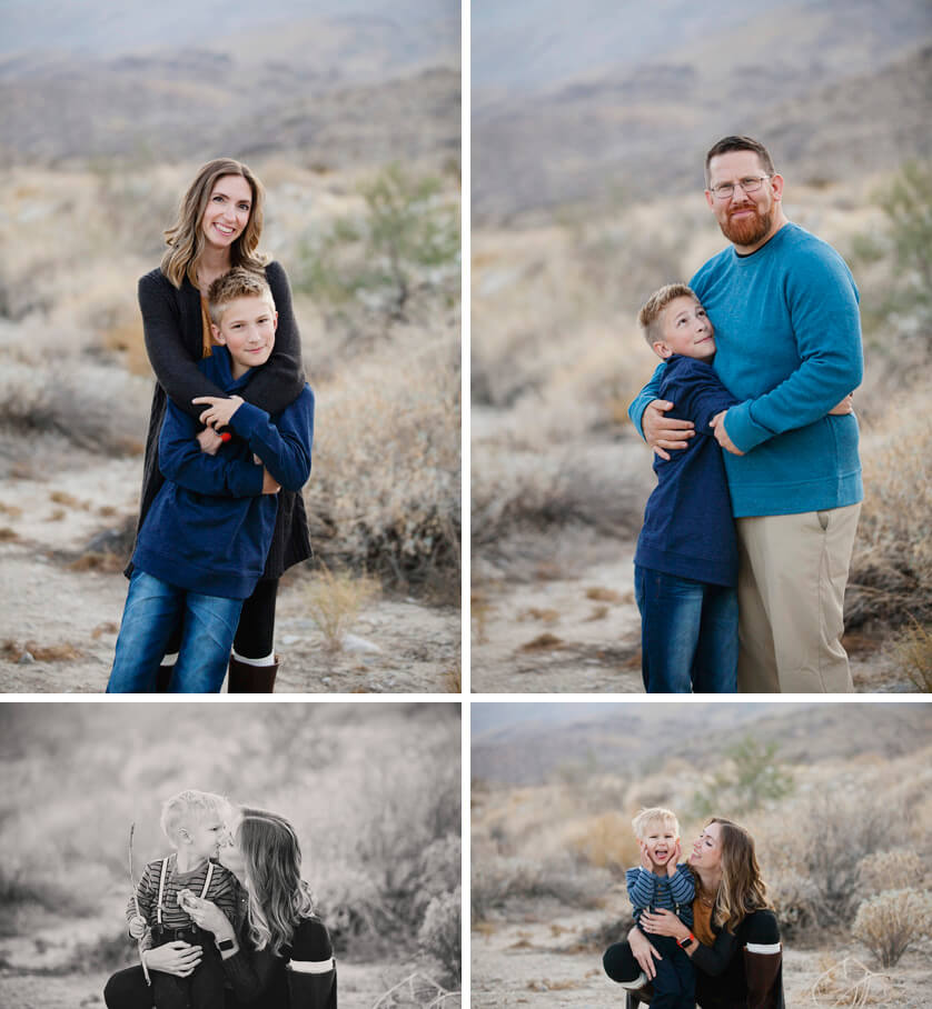 Sweet family portraits
