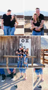 Family portraits in Pioneertown, Yucca Valley, Ca