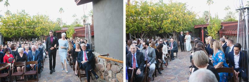 wedding ceremony, Palm Springs