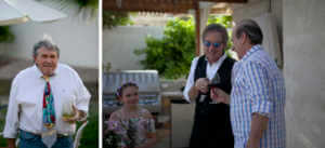Roly Salley gets married in Bermuda Dunes
