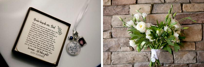 Bridal bouquet by Arrangements floral