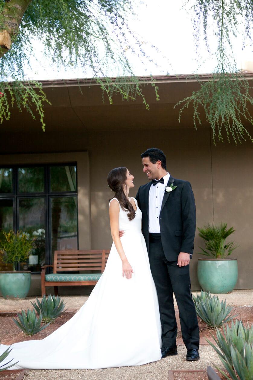 Wedding portraits at the Ritz Carlton Rancho Mirage